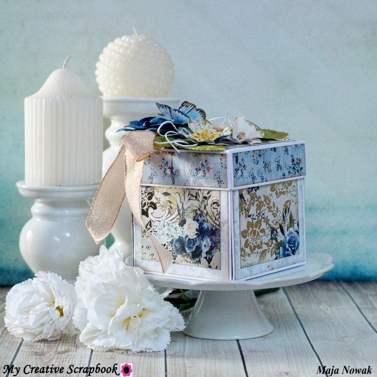 Wedding Exploding Box *DT My Creative Scrapbook*