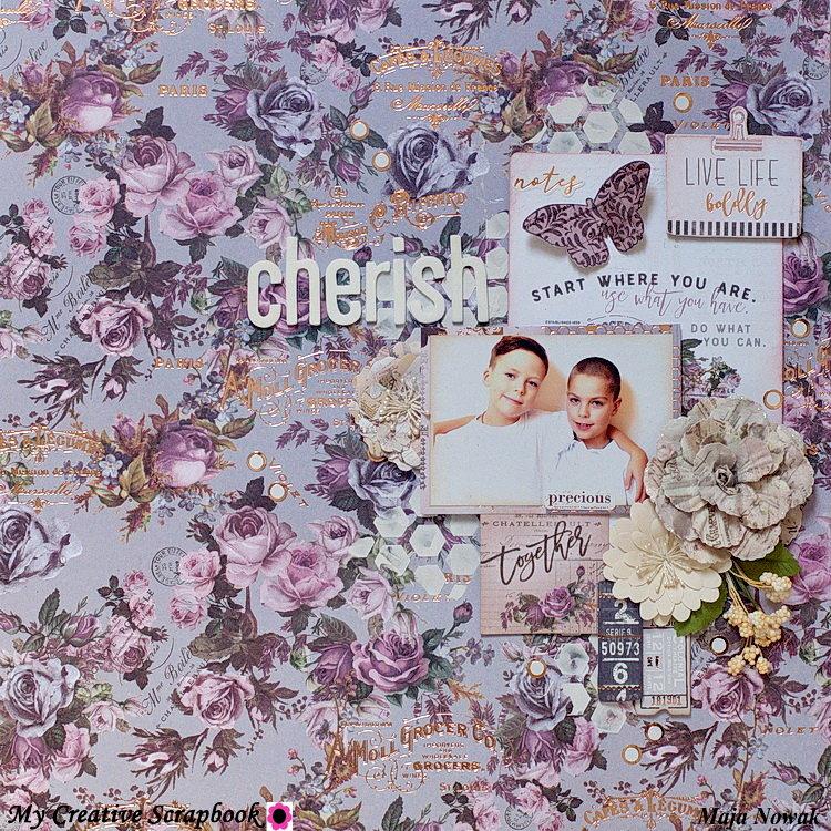 Cherish *DT My Creative Scrapbook*