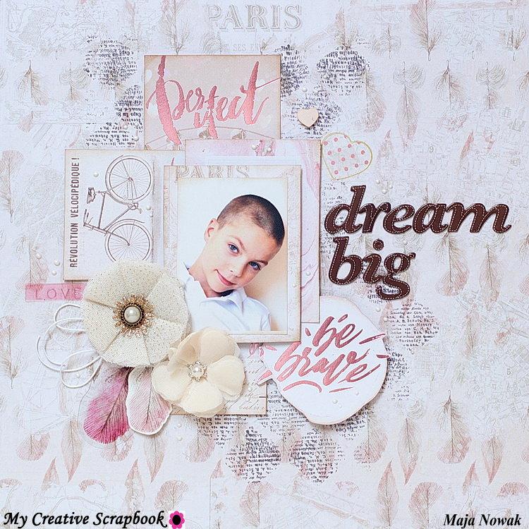 Dream Big *DT My Creative Scrapbook*
