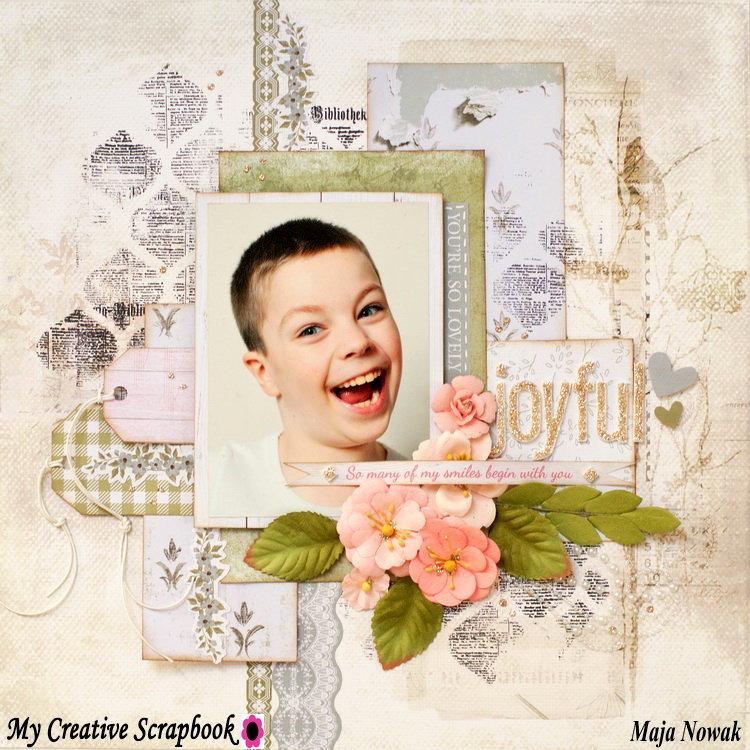 Joyful *GD My Creative Scrapbook*