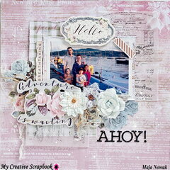 Ahoy *DT My Creative Scrapbook*
