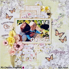 In The Garden *DT My Creative Scrapbook*