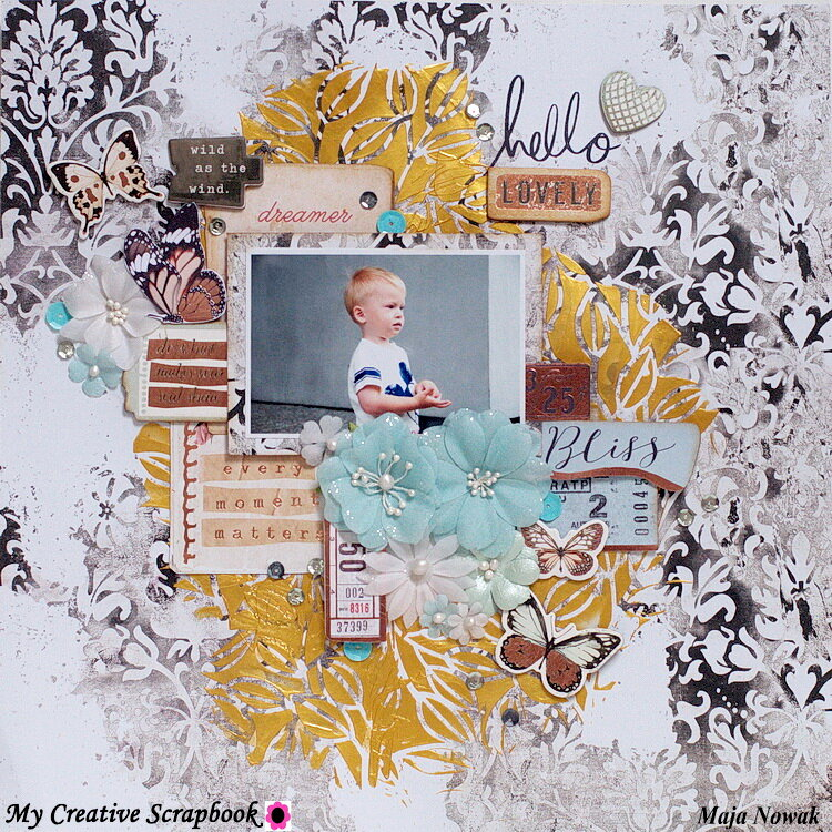 Hello Lovely *DT My Creative Scrapbook*