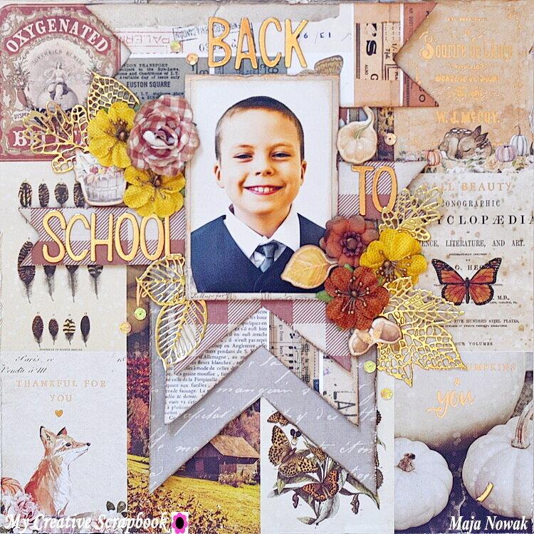 Back to School *DT My Creative Scrapbook*