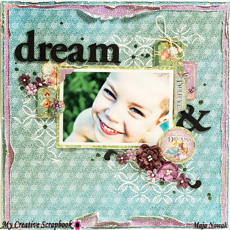 Dream *DT My Creative Scrapbook*