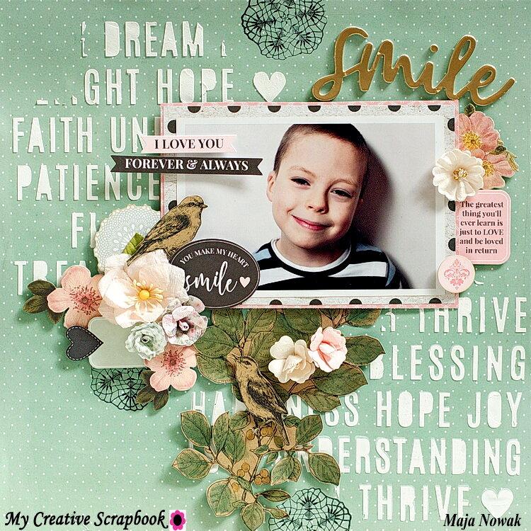 Smile *DT My Creative Scrapbook*