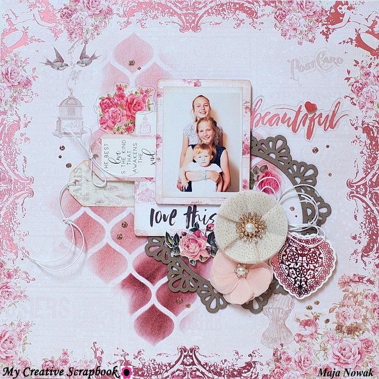 Beautiful *DT My Creative Scrapbook*