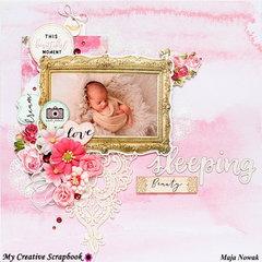 Sleeping Beauty *DT My Creative Scrapbook*