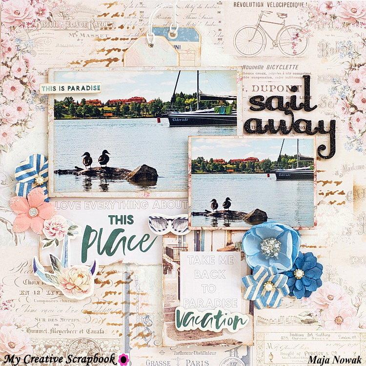 Sail Away *DT My Creative Scrapbook*