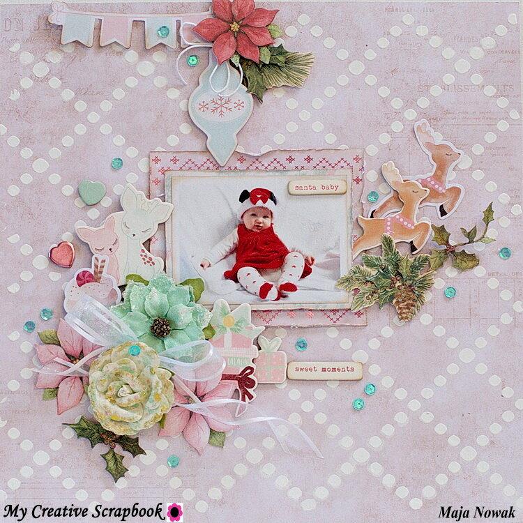 Santa Baby *DT My Creative Scrapbook*