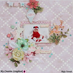 Santa Baby *DT My Creative Scrapbook*