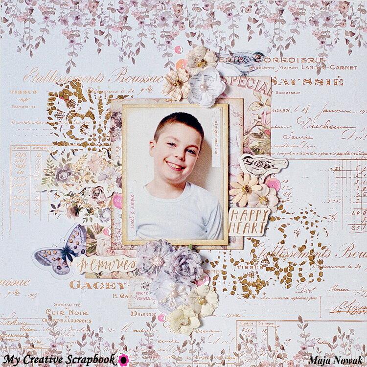Happy Heart *DT My Creative Scrapbook*