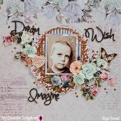 Dream, Wish, Imagine *DT My Creative Scrapbook*