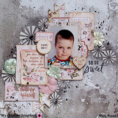 So So Sweet *DT My Creative Scrapbook*