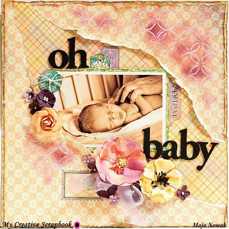 Oh Baby *DT My Creative Scrapbook*