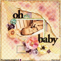 Oh Baby *DT My Creative Scrapbook*