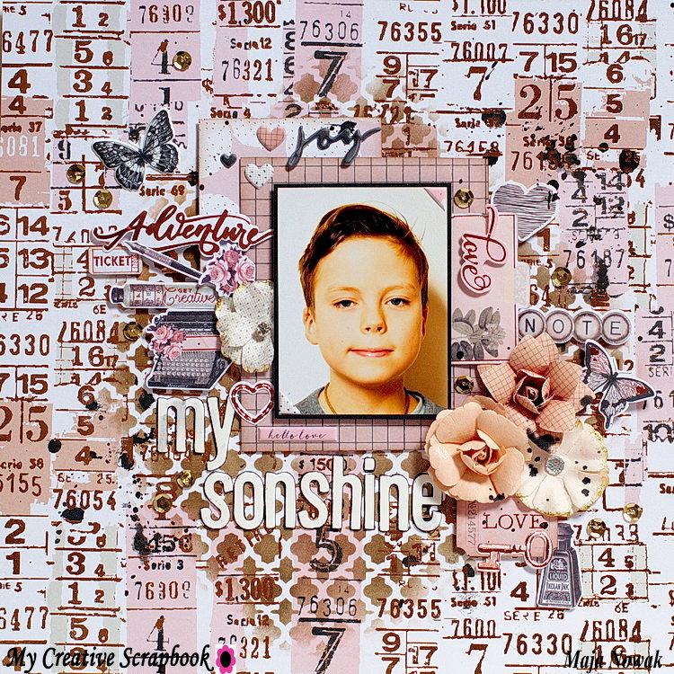 My Sonshine *DT My Creative Scrapbook*