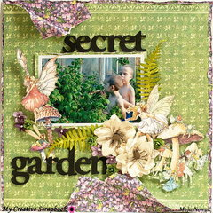 Secret Garden *DT My Creative Scrapbook*