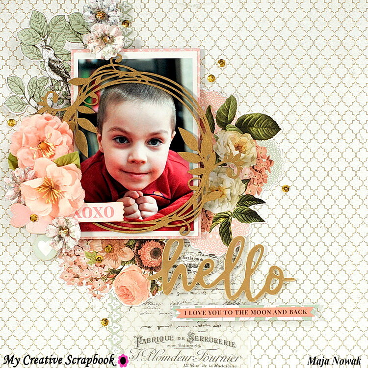 Hello *DT My Creative Scrapbook*