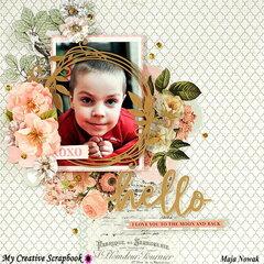 Hello *DT My Creative Scrapbook*