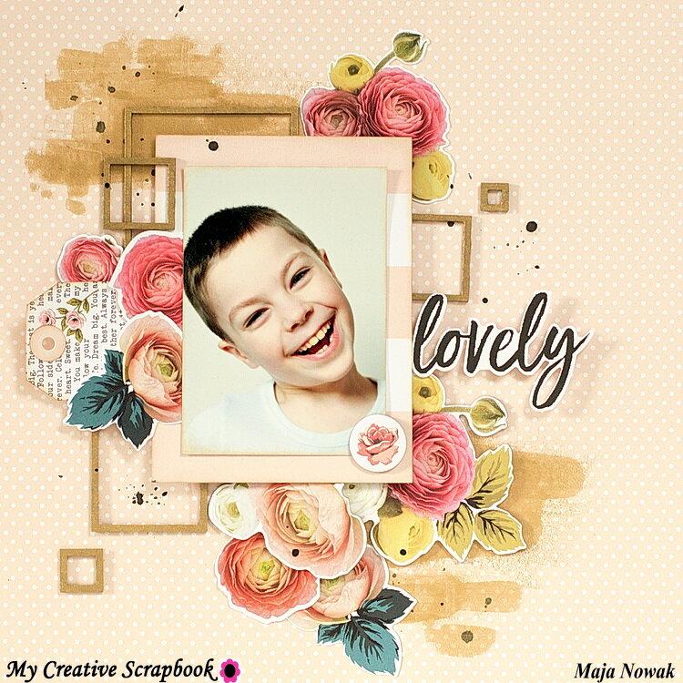 Lovely *DT My Creative Scrapbook*