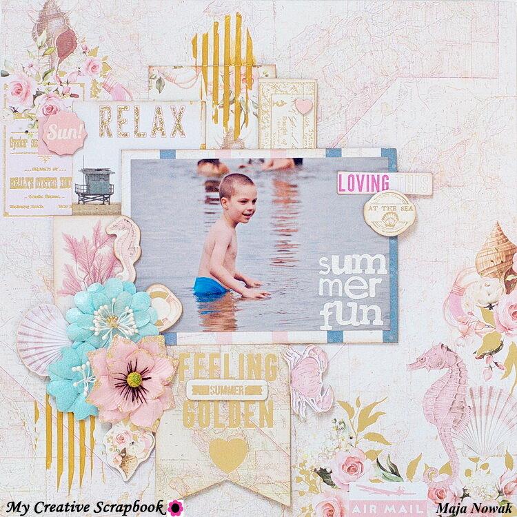 Summer Fun *DT My Creative Scrapbook*