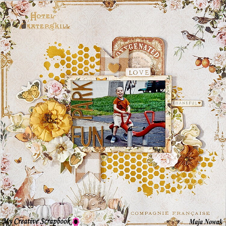 Park Fun *DT My Creative Scrapbook*