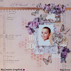 My Boy *DT My Creative Scrapbook*