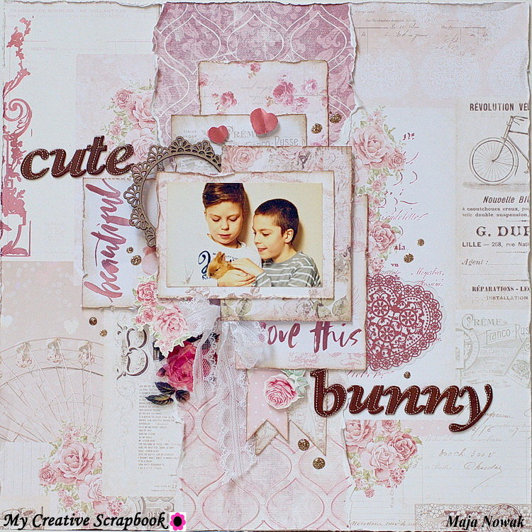 Cute Bunny *DT My Creative Scrapbook*