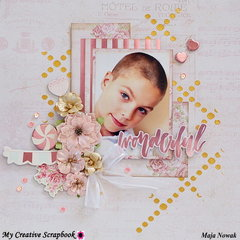 Wonderful *DT My Creative Scrapbook*