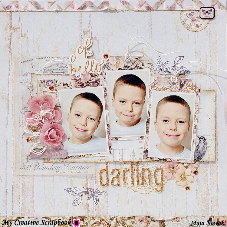 Darling *DT My Creative Scrapbook*