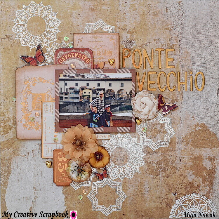 Ponte Vecchio *DT My Creative Scrapbook*