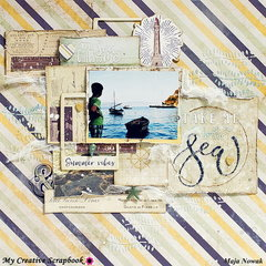 Take Me To The Sea *DT My Creative Scrapbook*