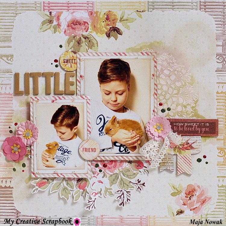 Sweet Little Friend *DT My Creative Scrapbook*