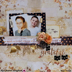 So Grateful For You *DT My Creative Scrapbook*