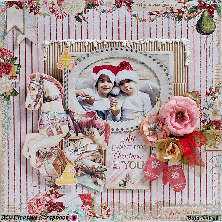 All I Want For Christmas *DT My Creative Scrapbook*