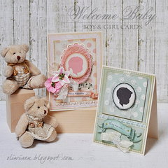 Welcome Baby Cards *Craft4You*