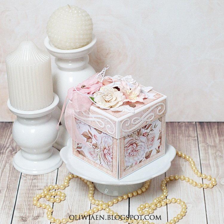 Wedding Exploding Box *DT SCrapki.pl*