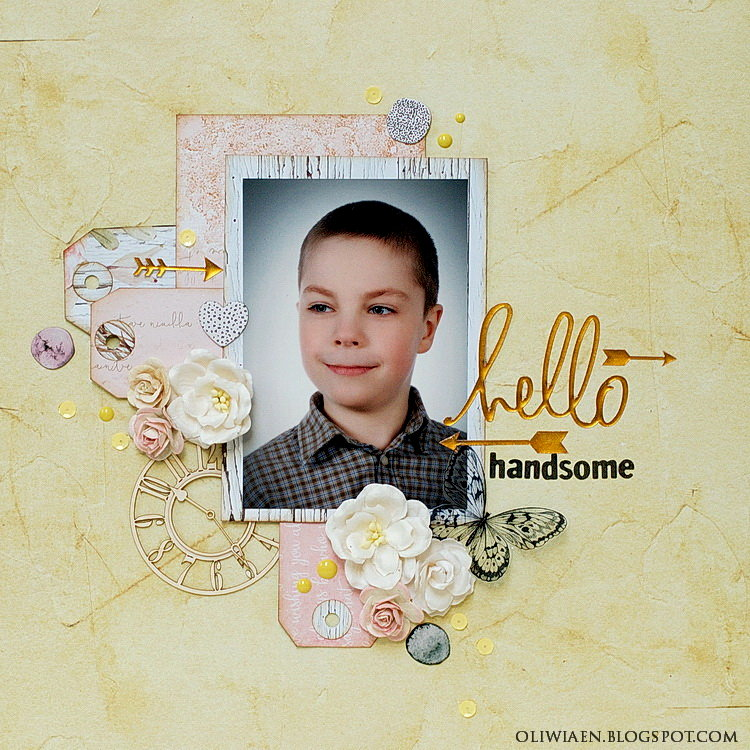 Hello Handsome *DT Scrapki.pl*