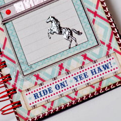 Horse Notebook *DT Craft4You*