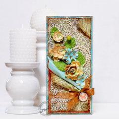 Autumn Wedding Card *DT Craft4You*