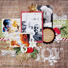 White Christmas *DT Craft4You*