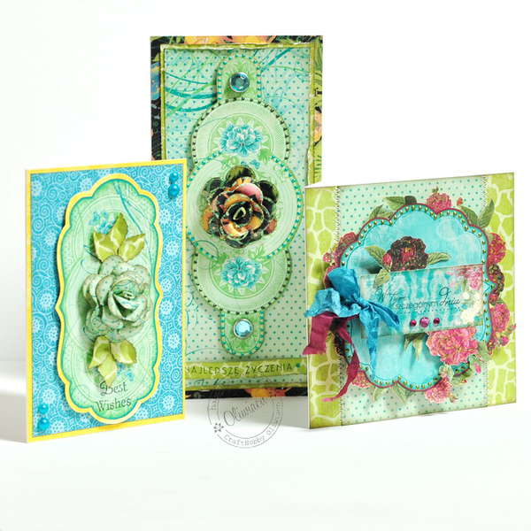Juicy Summer Cards *DT Craft4You*