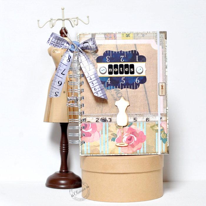 Dressmaker's Notebook *DT Craft4You*