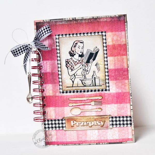 Pretty Cook Recipe Notebook