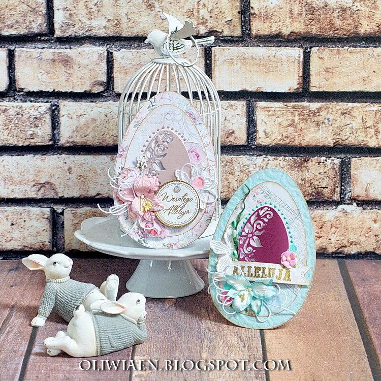 Easter Egg Cards *Lemoncraft*