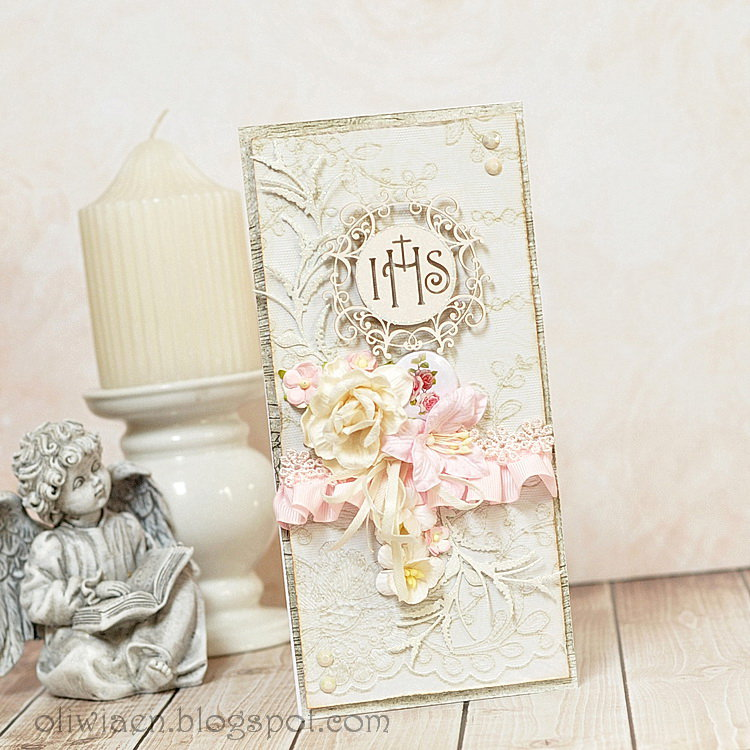 First Communion Card *DT Lemoncraft*