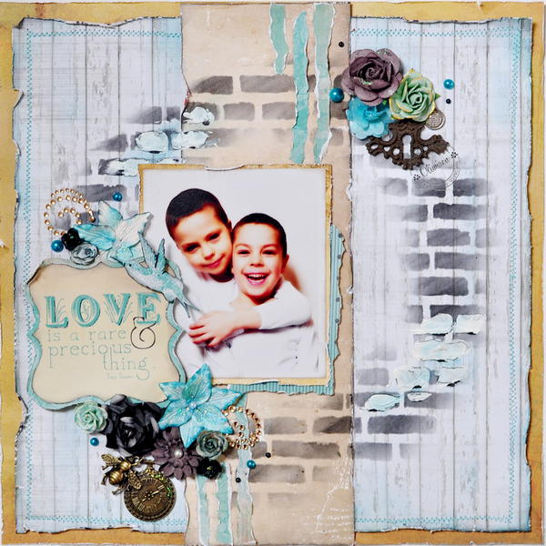 Love Is A Rare & Precious Thing *DT Craft4You*