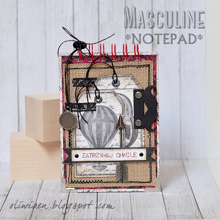 Masculine Notepad *DT Craft4You*
