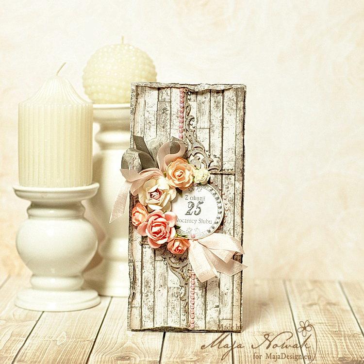 Silver Anniversary Card *DT Maja Design*